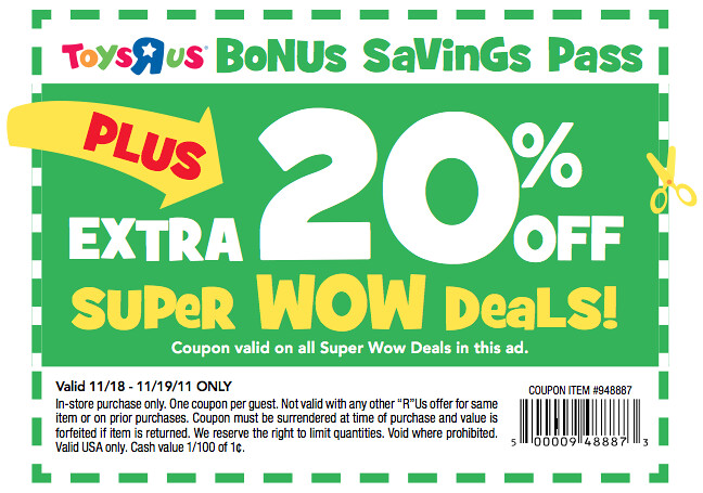 Lego Toys R Us Coupon 2017 Printable : Wow coupon toys r us doorbuster deal additional off