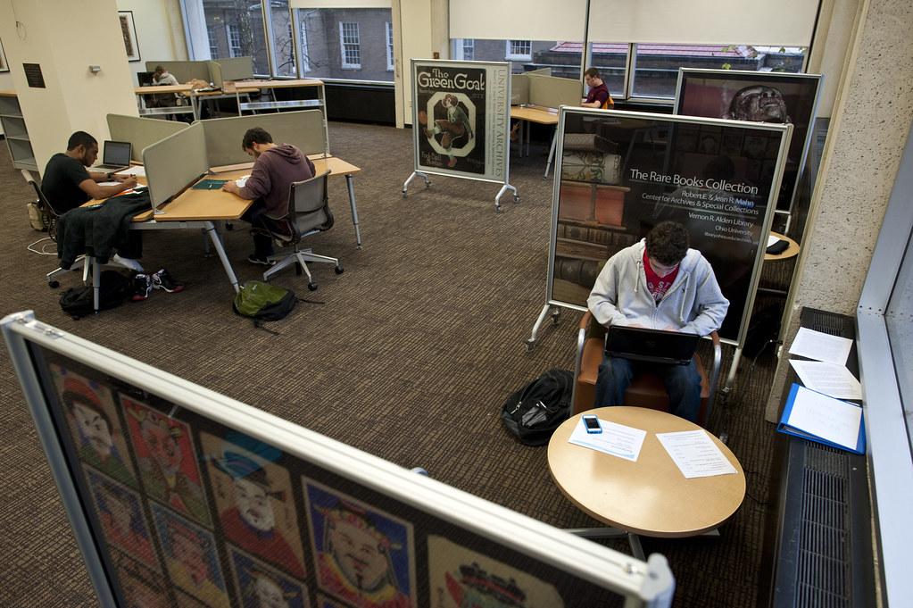 Alden Library Room