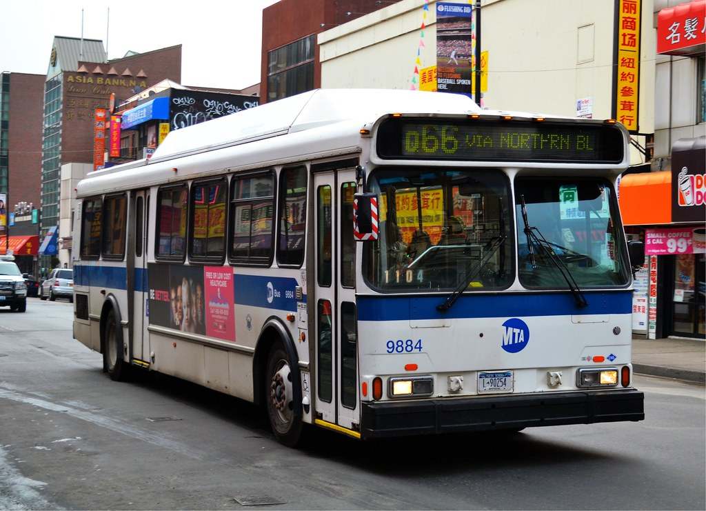 Nyct Q66 Bus Flushing New York Ny A Nyct Orion V