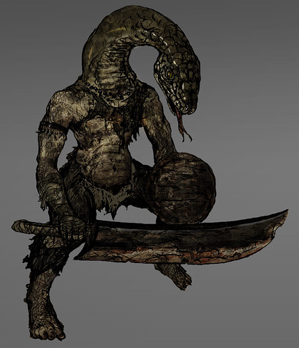 Dark Souls for PS3: Snake Man | by PlayStation.Blog