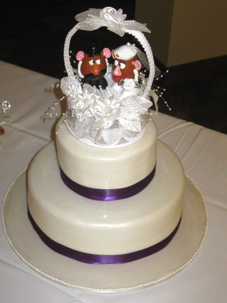 Mr And Mrs Potato Head Cake By Sandpoint City Sweets Design