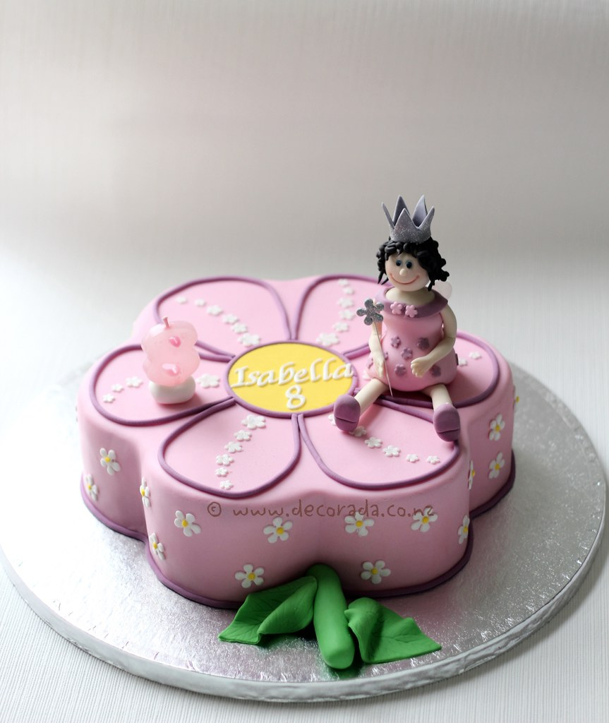 Daisy Flower Fairy Cake Daisy Flower Chocolate Cake Fonda Flickr