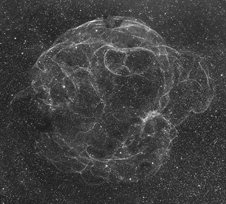 Sh2-240 supernova remnant (mosaic) | by write_adam
