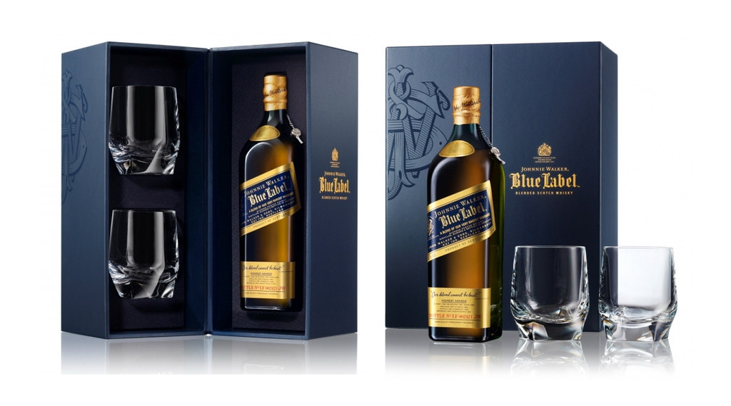 Johnnie Walker Blue Label Father S Day Package Design