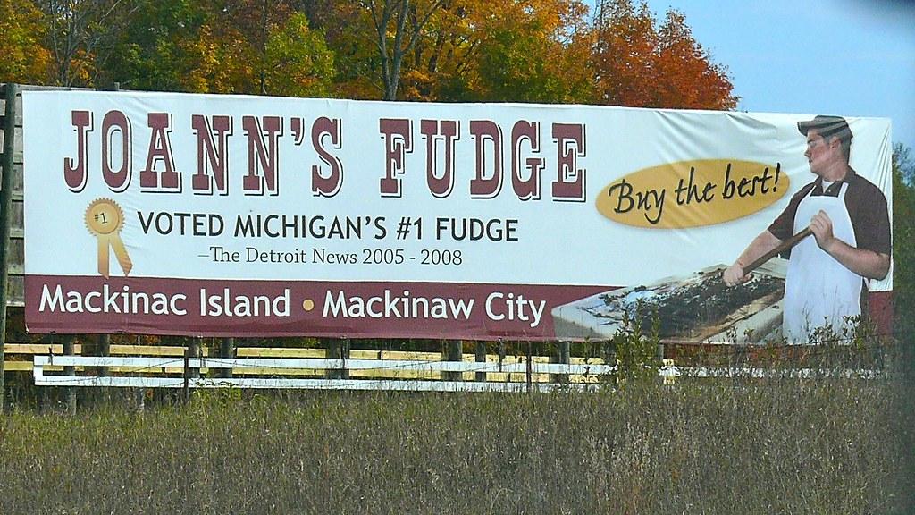 Joann S Fudge Of Mackinac Island Mackinaw City Mi