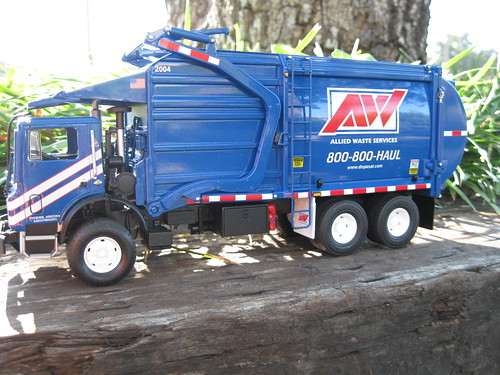 First Gear Allied Waste Front Load Garbage Truck First