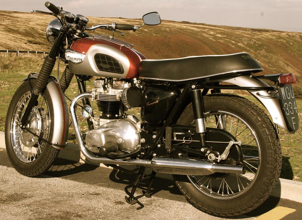 New Triumph Bonneville >> Triumph Bonneville 1968 T120 | drfene | Flickr