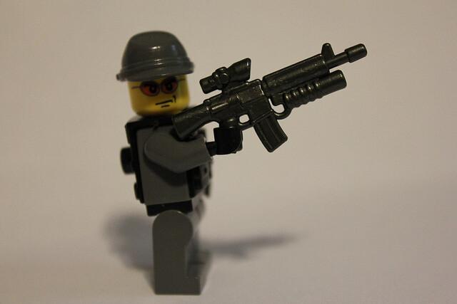 M16 A4 ACOG   i dub thee, the M16A4GLACOGCM :> i didnt ... M16 Acog