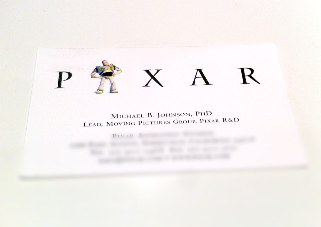 You have Buzz Lightyear on your business card. You win. | Flickr