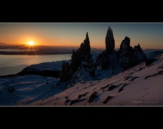 Dawn on the Old Man of Storr | by Billy Currie