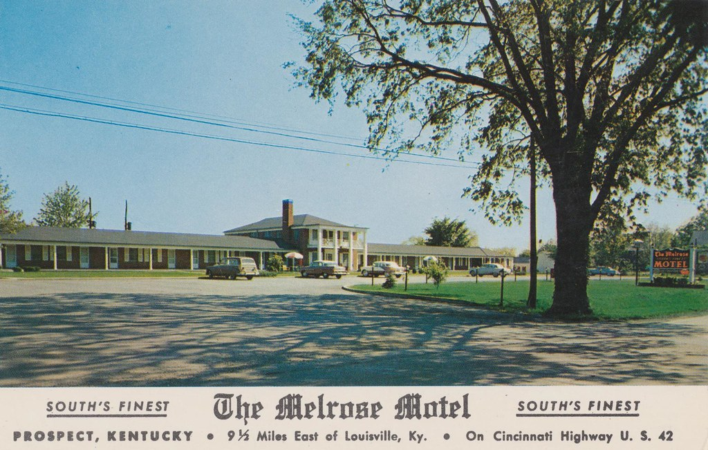 The Melrose Motel - Prospect, Kentucky