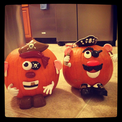 Halloween Pirate Pumpkins | by Tracey's Culinary Adventures