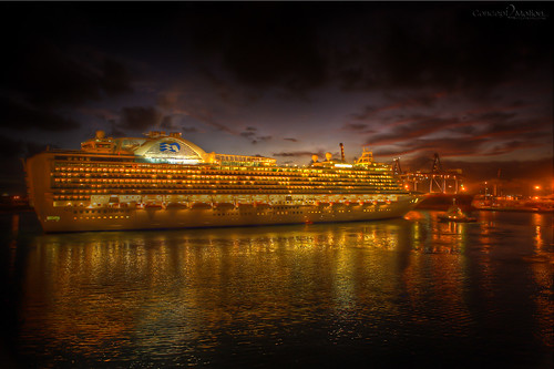 Norwegian cruise ship passing by | by PJ Mozingo
