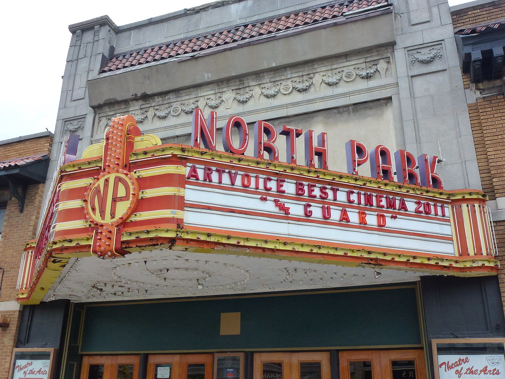 Buffalo Ny North Park Theater Marquee The North Park Open Flickr