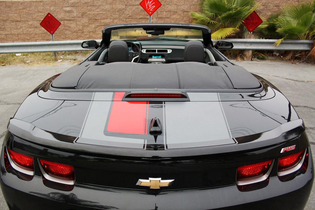 2012 Chevrolet Camaro Convertible 45th Anniversary Edition Flickr