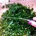 Chop chop choppin' kale