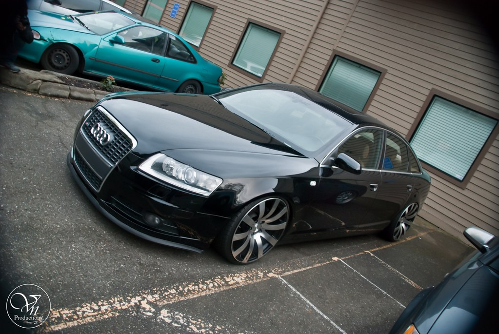 Vip Audi A6 Big Ups To Peter On The Slammed Audi A6 Vn