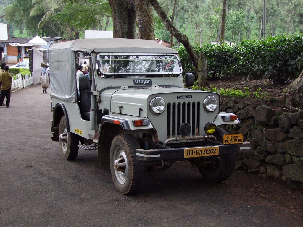 Mahindra Major Deriv 233 Lointain De La Jeep Cj3