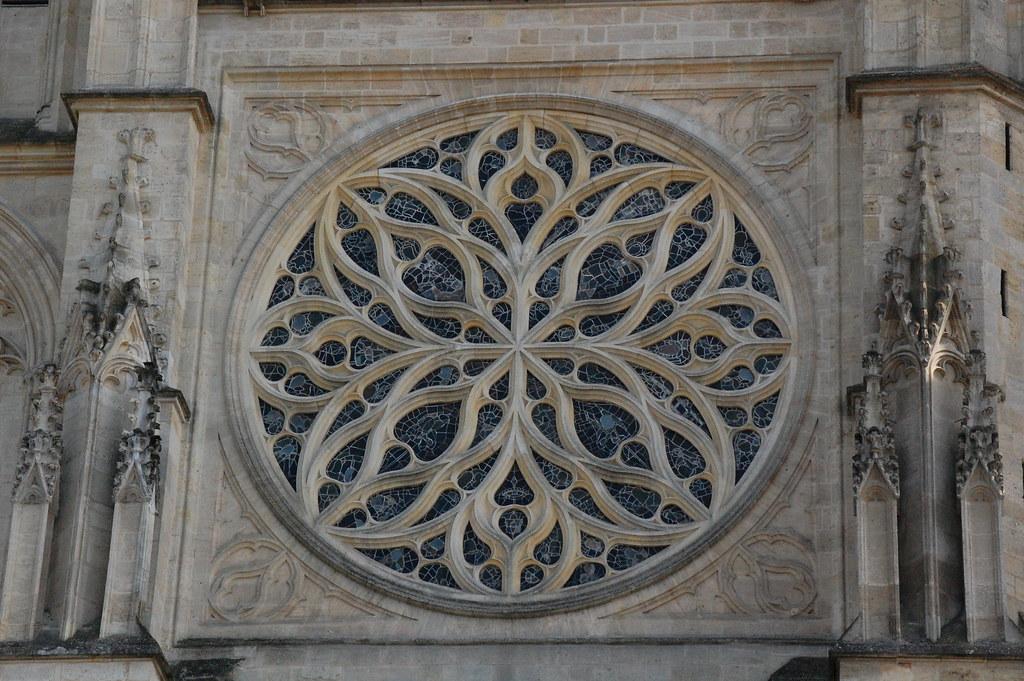 Jimwhiteheaducsc Rose Window Bordeaux Cathedral