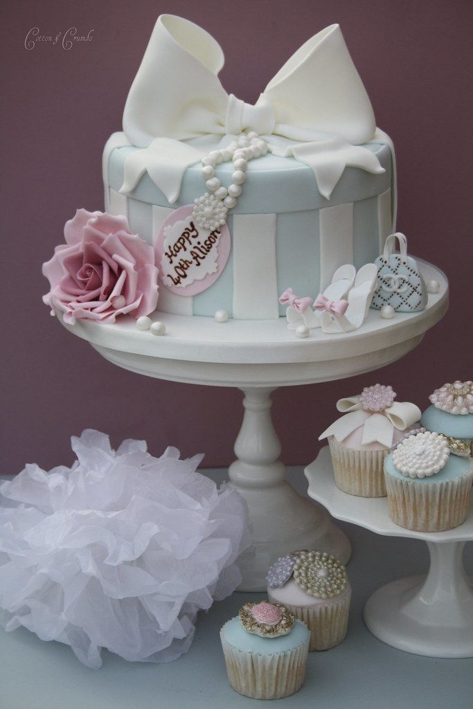 Cake Ideas From Cake Box : Hat box cake Havent done one of these for a while ...