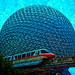 Disney Parks as Art - Monorail Monday Edition