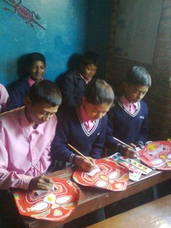 EEBS students making masks | by kalirati