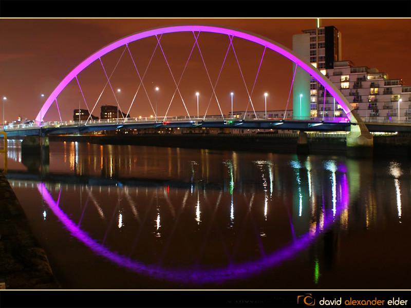 ... Squinty Bridge at Night by David Alexander Elder | by David Alexander Elder  sc 1 st  Flickr & Glasgowu0027s Squinty Bridge at Night by David Alexander Eldeu2026 | Flickr
