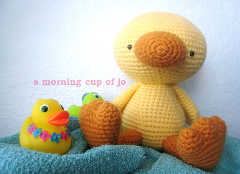 Amigurumi Baby Duck I Crocheted This Baby Duck For My Frie Flickr