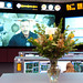 Thanksgiving Flowers in Mission Control