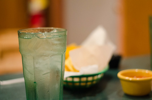 Glass of water - El Loro Mexican Restaurant