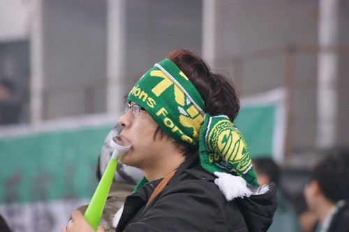 Worried supporter after Shenhua backed in the game 2-2 | by Ju1ian