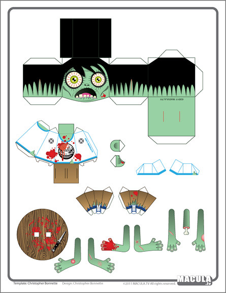 Zombie Base Folk Template Download Hi Res File Here