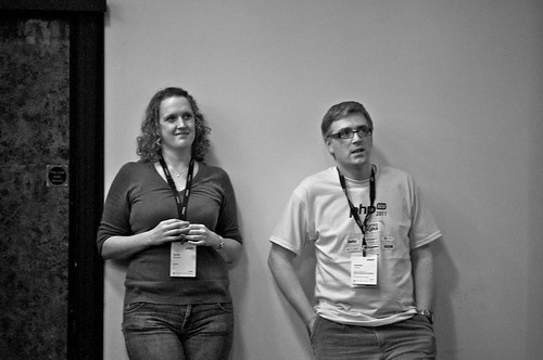 Lorna Jane and Jeremy Coates - PHPNW11 Conference Organisers | by Stuart Herbert