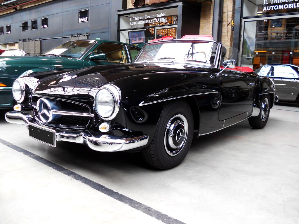 Mercedes benz 190 sl w121 b2 roadster 1960 sporty for Mercedes benz usa jobs