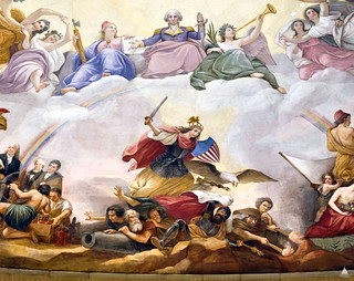 Apotheosis of Washington: War | by USCapitol