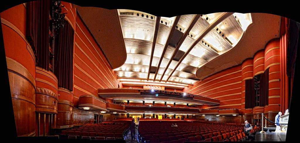 Kansas City Municipal Auditorium Panorama Of Music Hall Flickr