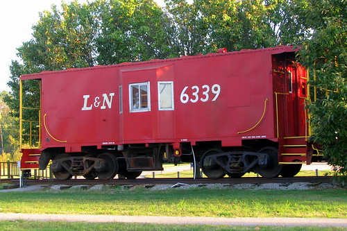 L&N Caboose 6339 - Big Sandy, TN