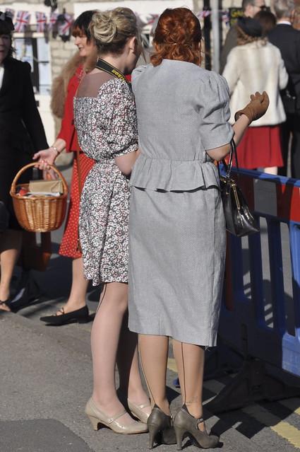 1940 S Seamed Stockings 2 Pickering War Weekend 2011 7
