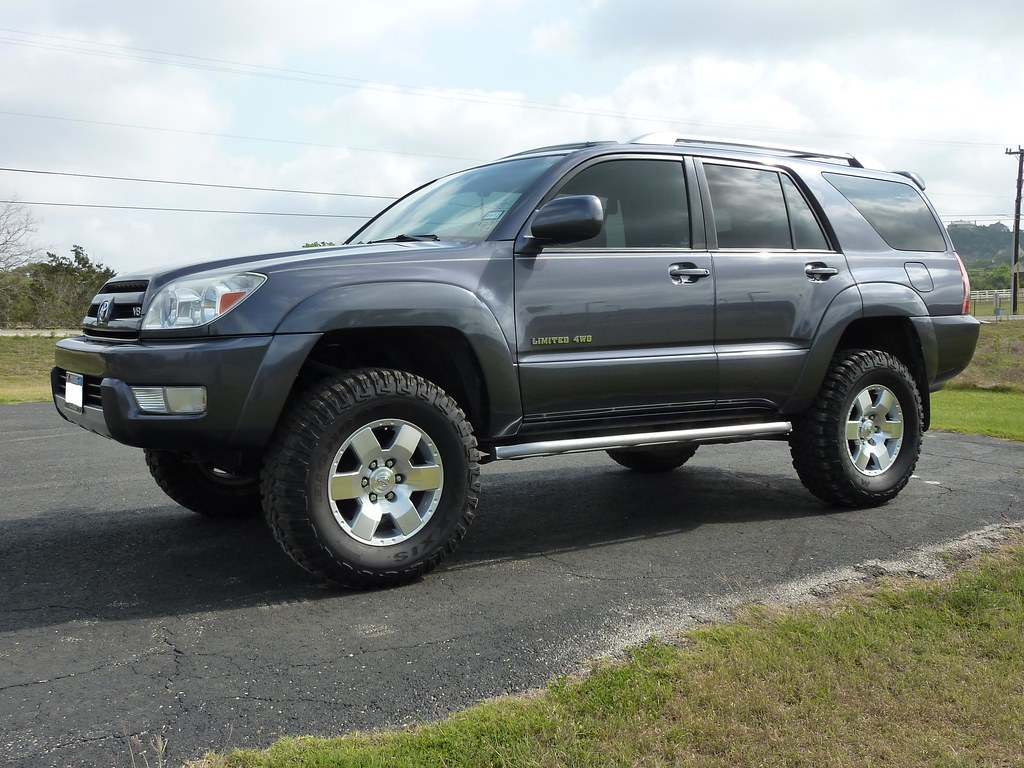 2003 V8 4runner With Toytec 3 Quot Coil Spring Lift And 285 70