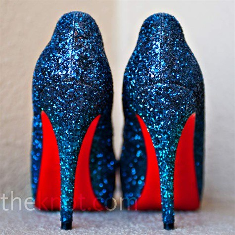 blue sparkly heels | franceshouseman85 | Flickr