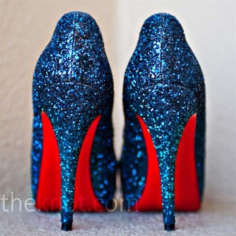 blue sparkly heels | franceshouseman85 | Flickr