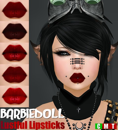 BARBIEDOLL Lustful Lipsticks | by ωħıšρεя & ʍικε Ʀεllικ