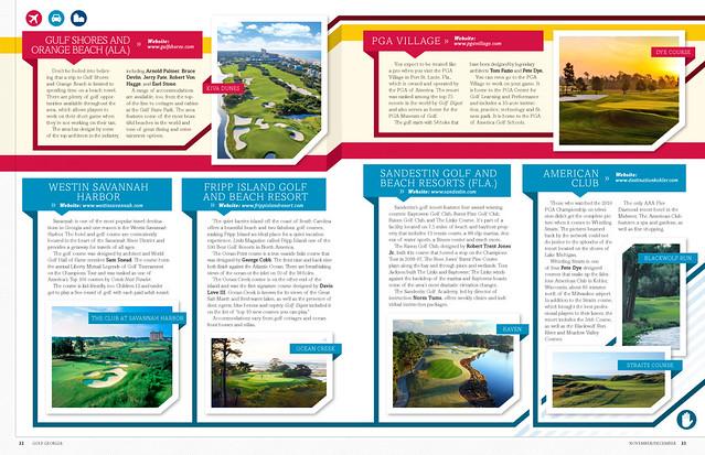 Golf Georgia Editorial / Magazine Design | Flickr - Photo ...