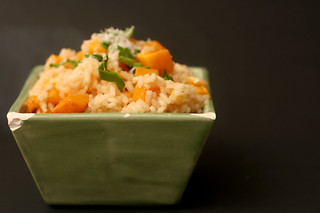butternut squash risotto 5 | by crumblycookie