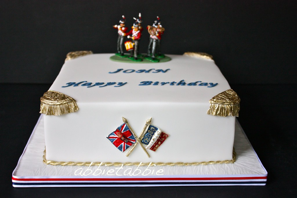 A Napoleonic Military Birthday Cake For A Flickr