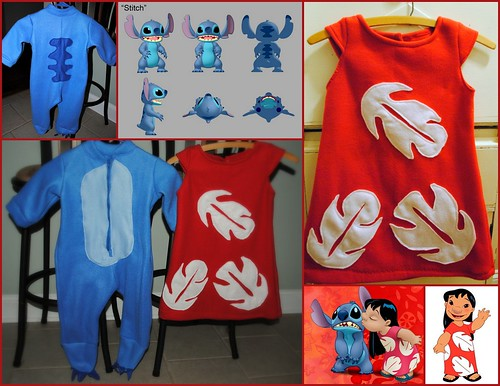 Lilo And Stitch Lilo And Stitch Costumes For Siblings