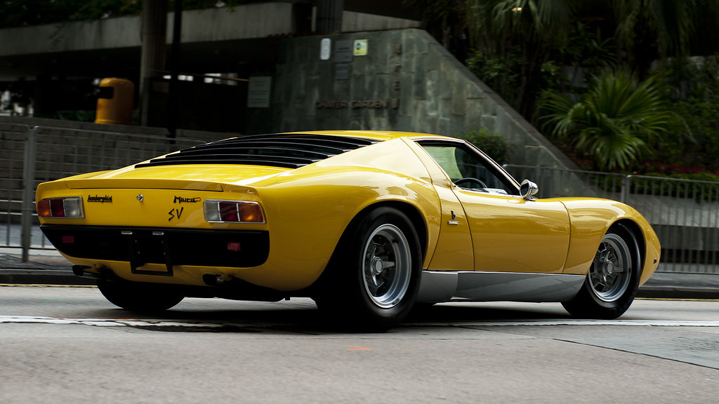 Lamborghini Miura Sv Ex Rod Stewart Car Central Hong Ko Flickr