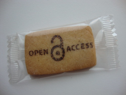 Open Access cookie | by biblioteekje
