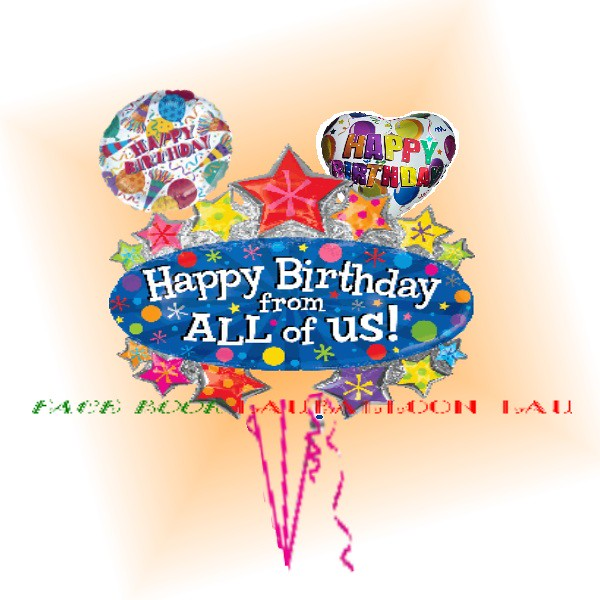 Happy Birthday from All of Us Bouquet - Only HKD 160 | Flickr