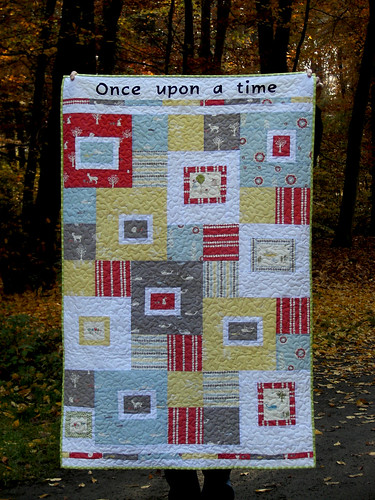 Once Upon a Time Quilt by Tacha Bruecher | by Fat Quarterly